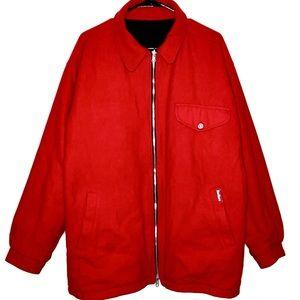Marlboro Vintage Reversible Wool Jacket Size L